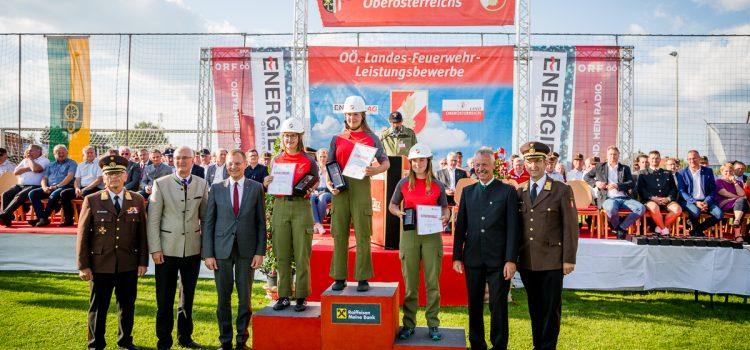 7.7.2018: 2-mal Bronze für die Uttendorfer Mädels beim Feuerwehrjugendleistungsbewerb in Rainbach im Mühlkreis