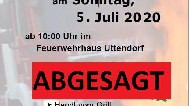 5.7.2020 – Frühschoppen abgesagt